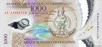 1000 Vatu 2014 VANUATU VANUATU 1000 Vatu 2014 NEUF ST  20,00 EUR  zzgl. 10,00 EUR Versand