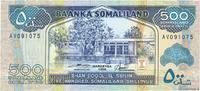 500 Shillings 1996 SOMALILAND SOMALILAND 500 Shillings 1996 NEUF ST  10,00 EUR  zzgl. 10,00 EUR Versand