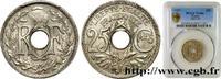 25 centimes Lindauer 1927  III REPUBLIC 1927 (24mm, 5g, 7h ) ST  120,00 EUR  zzgl. 10,00 EUR Versand