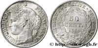 50 centimes Cérès, IIIe République 1886  III REPUBLIC 1886 (18mm, 2,50g... 350,00 EUR  zzgl. 10,00 EUR Versand
