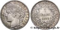 1 franc Cérès, IIIe République 1872  III REPUBLIC 1872 (23mm, 4,98g, 6h... 220,00 EUR  zzgl. 10,00 EUR Versand