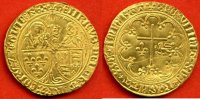1423 HENRI VI HENRI VI 1422-1453 SALUT D OR A/ HENRICVS*DEI *GRA*FRACO... 2680,00 EUR  zzgl. 20,00 EUR Versand