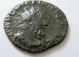 Silbersud-Antoninian 269 n. Chr. Rom Selte...
