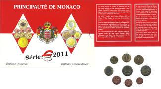 5.88€ 2011 MONACO RAINIER III ST
