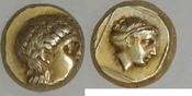 Elektron-Hekte 377-326 v.  Lesbos - Mytile...