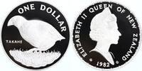 1 Dollar Silber 1982 Neuseeland WWF, Takahe  PP Proof in Münzkapsel  35,00 EUR  zzgl. 4,00 EUR Versand