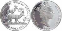 Cook Islands 50 Dollars Silber 1990 PP Pro...