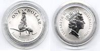 1 $ Silberunze 1996 Australien Känguruh Stempelglanz in Originalkapsel  35,00 EUR  zzgl. 4,00 EUR Versand