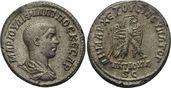 Tetradrachme 248 n.Chr.  SYRIEN Philippus ...