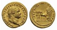 Aureus 79 Rom RÖMISCHE KAISERZEIT Titus, 7...