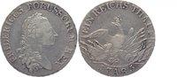 Taler 1785  A Brandenburg-Preussen Friedrich II. der Grosse 1740-1786, ... 170,00 EUR kostenloser Versand
