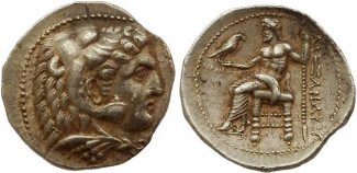 tetradrachm 311 – 310 B Ancient Greece Mac...