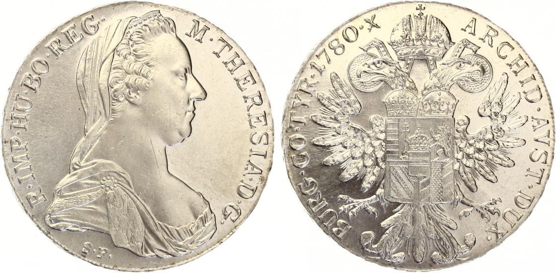 Taler Maria Theresia 1780 Np