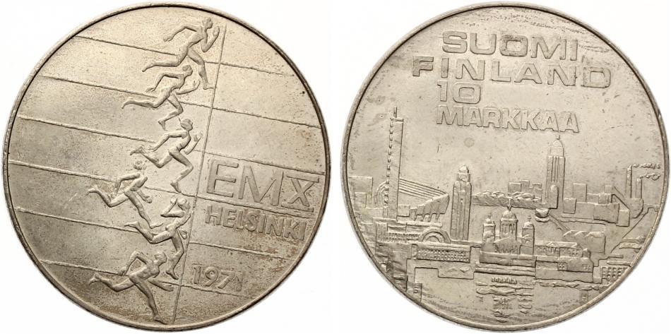 Finnland 10 Markkaa 1971