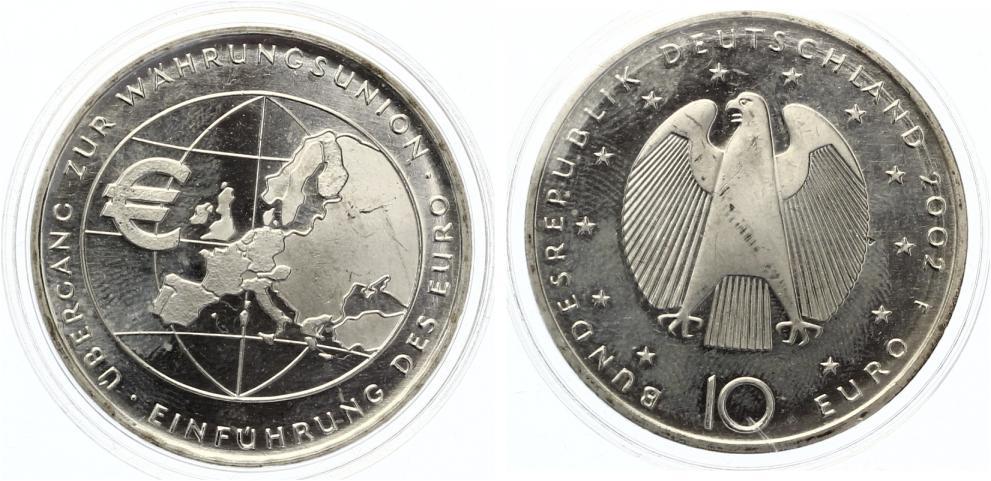 10 Euro Einführung des Euro 2002