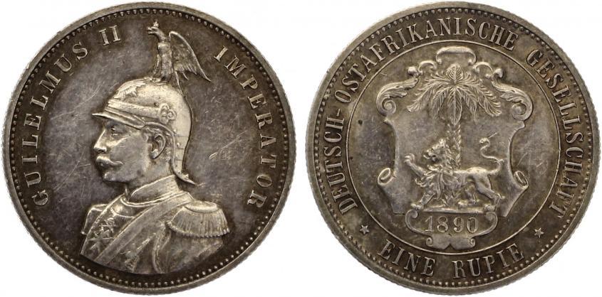 Deutsch Ostafrika 1 Rupien 1890