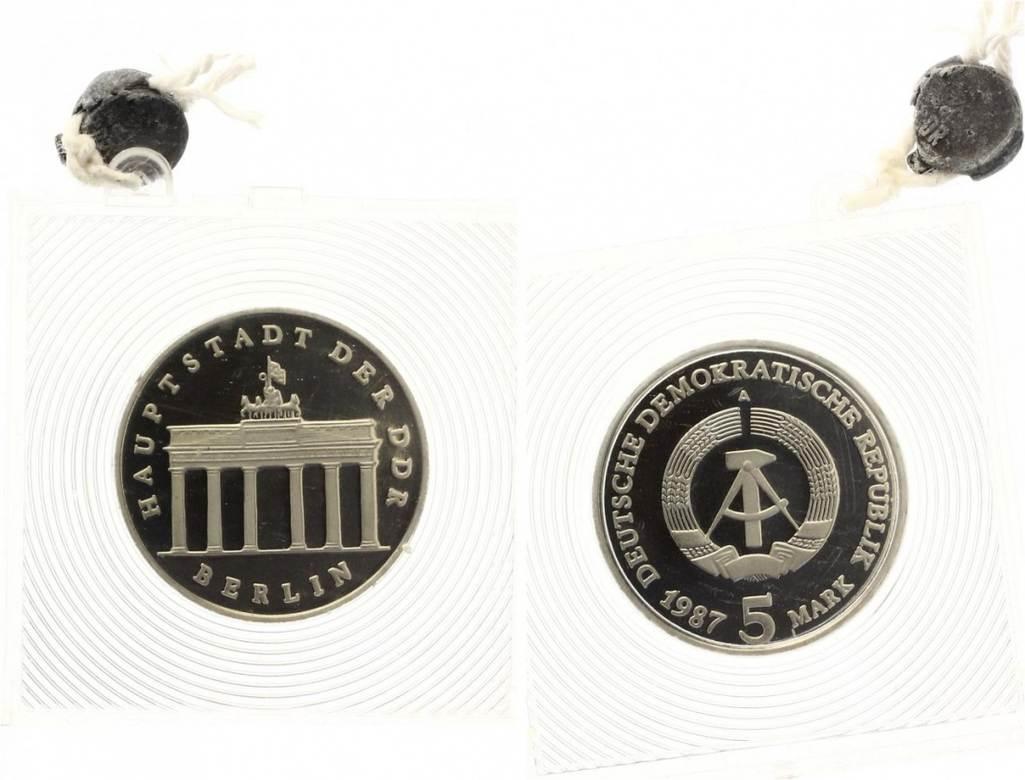 5 Mark Brandenburger Tor 1987