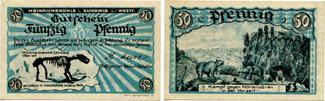 Sundwig 50 Pfennig Heinrichshöhle nahez...