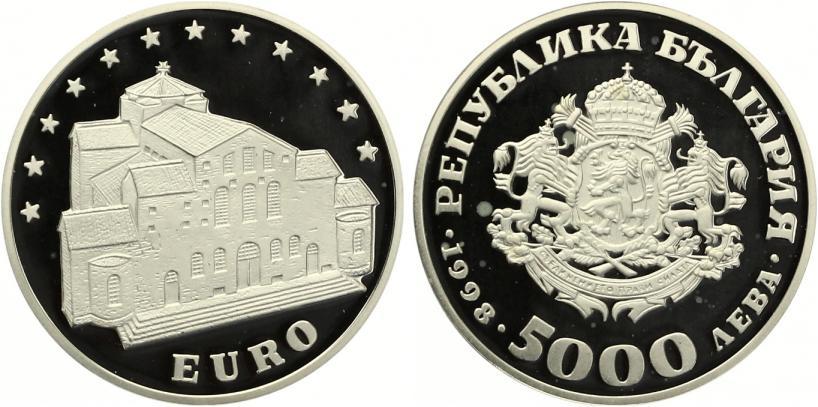 Bulgarien 5000 Leva 1998