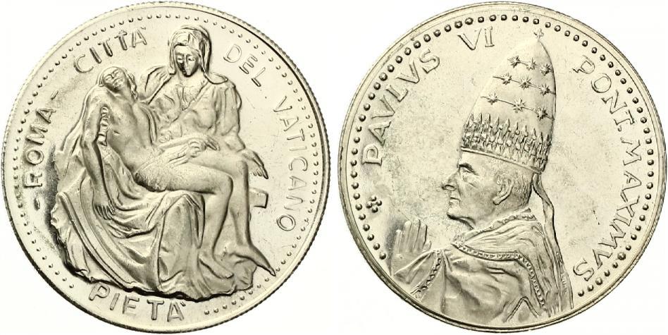Vatikan Medaille Paulus Vi Pont Maximus