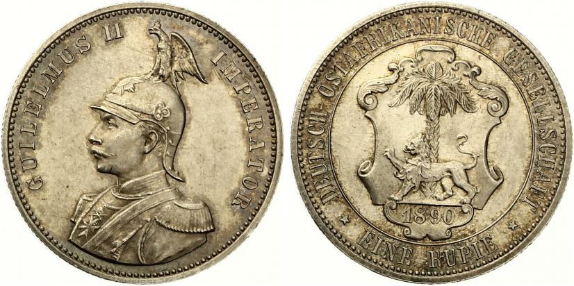 Deutsch Ostafrika 1 Rupie 1890