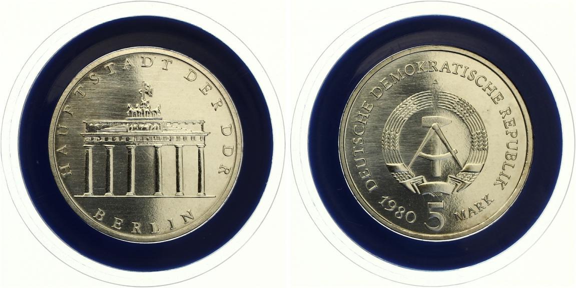 5 Mark Brandenburger Tor 1980