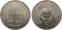 1987  5 Mark Alexanderplatz vz  4,00 EUR  zzgl. 1,70 EUR Versand