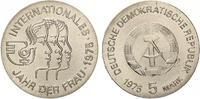 1975  5 Mark Jahr der Frau ST  11,00 EUR  zzgl. 1,70 EUR Versand