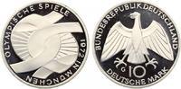 1972 f  10 DM olympische Spiele 1972 Verschlungene Arme pp  12,50 EUR  zzgl. 1,70 EUR Versand
