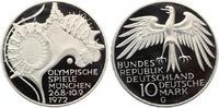 1972 d  10 DM olympische Spiele 1972 Sportstätten pp  12,50 EUR  zzgl. 1,70 EUR Versand