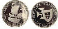1989  100 Escudos Portugal 1989 Madeira Porto Santo pp  17,50 EUR  zzgl. 1,70 EUR Versand