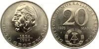 1973  20 Mark Grothewohl bankfrisch  7,00 EUR  zzgl. 1,70 EUR Versand