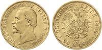 1886  20 Mark Sachsen Coburg Gotha 1886 Ernst II vz  4500,00 EUR kostenloser Versand