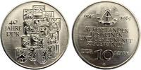 1989  10 Mark 40 Jahre DDR ST  10,00 EUR  zzgl. 1,70 EUR Versand