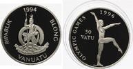 1994  50 Vatu Vanuatu 1994  Turnen 31,47 Gr 925er Silber pp  28,00 EUR  zzgl. 4,00 EUR Versand