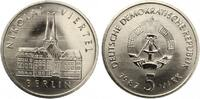 1987  5 Mark Nikolaiviertel bankfrisch  4,50 EUR  zzgl. 1,70 EUR Versand
