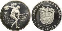 Panama 5 Balboas 1970 Diskuswerfen