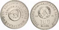 1981  10 Mark Münzprägung Berlin st  35,00 EUR  zzgl. 4,00 EUR Versand