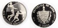 1990  10 Pesos 1990 Volleyball Olympia 1992 pp  26,00 EUR  zzgl. 4,00 EUR Versand