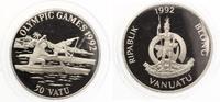 1992  Vanuatu 50 Vatu 1992 Olympia Kanu pp  28,00 EUR  zzgl. 4,00 EUR Versand