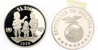 "1979  Bolivien 200 Pesos 1979 ""Internationales Jahr des Kindes&qu... 22,00 EUR"