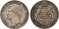 Sachsen Vereinstaler  1860 Johann ss kaum sichtbare Henkelspur  55,00 EUR  zzgl. 4,00 EUR Versand