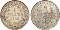 1848  Frankfurt Gulden vz  110,00 EUR  zzgl. 4,00 EUR Versand