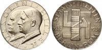 1938  Medaille Staatstreffen Mussolini-Hi...