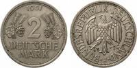 1951 J  2 DM ss-vz  14,50 EUR  zzgl. 1,70 EUR Versand
