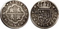 1725  Spanien 2 Reales  1725  Philipp V SEVILLA ss  40,00 EUR  zzgl. 4,00 EUR Versand