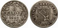 1857  Bremen 6 Grote 1857 ss  20,00 EUR  zzgl. 1,70 EUR Versand