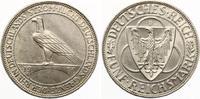 1930 D  5 Mark Rheinlandräumung vz/f.prägefrisch  200,00 EUR  zzgl. 4,00 EUR Versand
