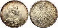 1913  3 Mark Preussen  25. Regierungsjubiläum nahezu Stempelglanz Top ... 30,00 EUR  zzgl. 4,00 EUR Versand
