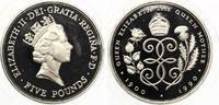 1990  5 Pfund Münze Großbritannien Silber 28g 1990 90. Geburtstag Köni... 25,00 EUR  zzgl. 1,70 EUR Versand